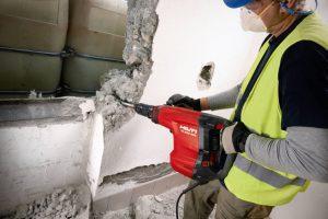 Демонтаж стен. Демонтаж бетона