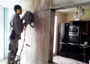 Демонтаж стен. Без шума и пыли