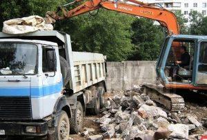 Вывоз строительного мусора